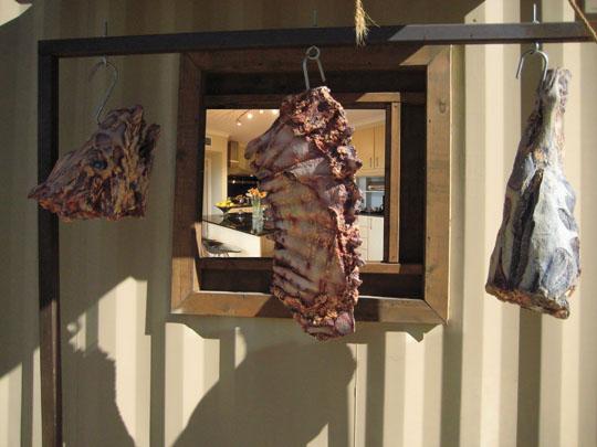 Butcher shop modernist kitchen