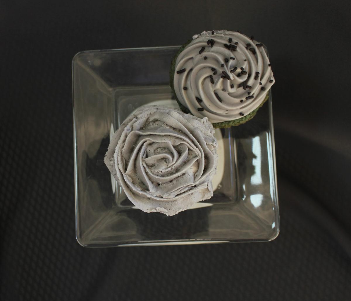 Depressed Cake cupcakes